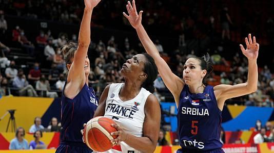 Camp.Europa femenino. Final: Francia - Serbia