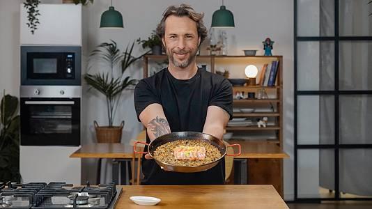 Paella japonesa, la fusión más loca de Gipsy Chef