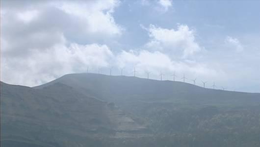 La región cuenta con un único parque eólico, el de Cañoneras