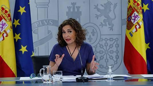 """María Jesús Montero: """"En septiembre se retomará la mesa de diálogo buscando los elementos que nos unen"""""""
