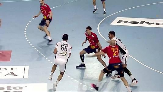 Encuentro selección masc. preparación JJ.OO: España - Egipto