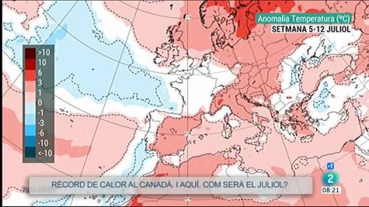 El juliol podria portar-nos calor tòrrida