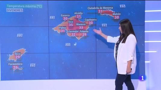 El temps a les Illes Balears - 01/07/21