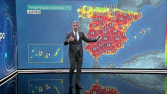Las temperaturas nocturnas subirán en la mitad norte interior