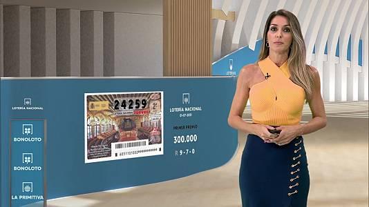 Sorteo de la Lotería Nacional, Bonoloto, Primitiva y Jóker del 01/07/2021