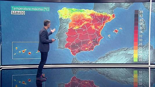 Temperaturas nocturnas en descenso en Galicia, y en ascenso en el Cantábrico, tercio oriental peninsular, Andalucía y Baleares