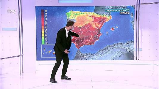 En buena parte del país se espera que predomine el tiempo seco y estable, con cielos poco nubosos o