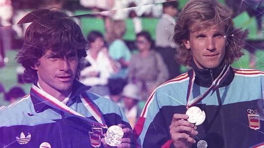 Tenis: A. Costa, A. Corretja, E. Sánchez Vicario y S. Casal