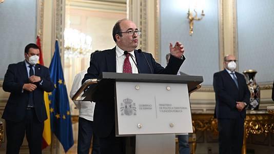 """Miquel Iceta: """"Pretendemos atajar drásticamente la temporalidad de los empleados públicos"""""""