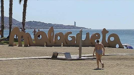 Temperaturas significativamente altas en el sur del Levante, Málaga, depresiones del nordeste peninsular y Baleares