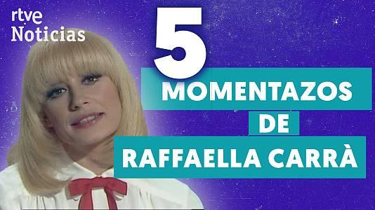 Cinco cosas de Raffaella Carrà en TVE
