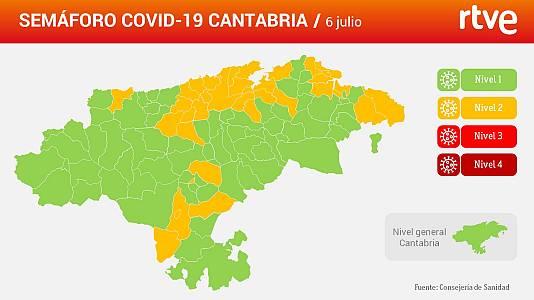 En una semana han pasado de 16 a 36 los municipios en riesgo medio