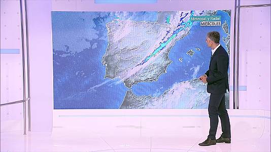 Chubascos y tormentas que pueden ser localmente fuertes en el extremo norte de Cataluña y extremo oriental del sistema Ibérico