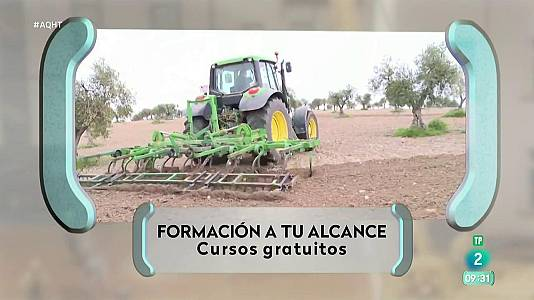 20 cursos remunerados en Jaén