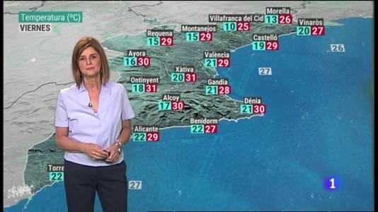 El Tiempo en la Comunitat Valenciana - 08/07/21