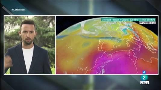 Arriba calor intensa, extrema al sud i centre peninsular