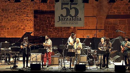 "55º Jazzaldia: Perico Sambeat ""Plays Zappa"""
