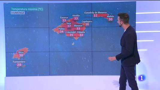 El temps a les Illes Balears - 09/07/21