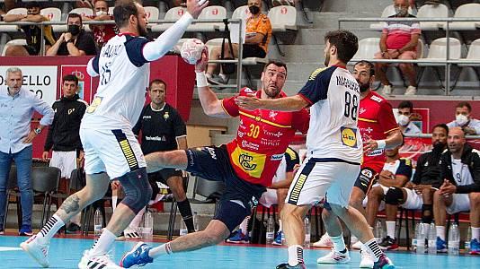 Encuentro selecc masc preparación JJ.OO.: España - Portugal