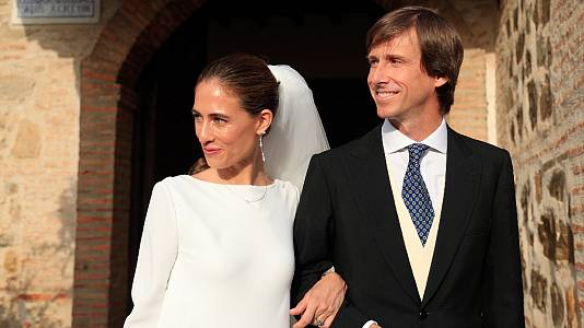 Amelia Millán y Felipe Cortina se dan el 'sí quiero'