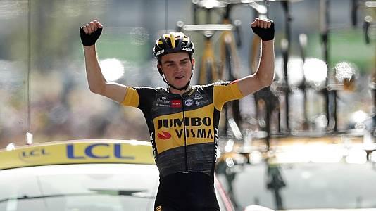 Tour 2021 | Sepp Kuss se impone en solitario e impide el triunfo de Valverde