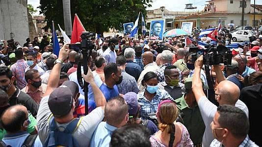 Protestas contra el régimen en Cuba