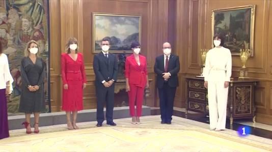 El govern Sánchez obre nova etapa amb set nous ministres