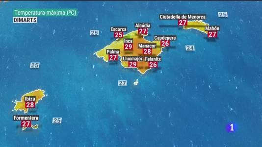 El temps a les Illes Balears - 12/07/21