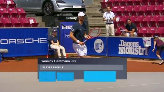 ATP 250 Torneo Bastad: Y. Hanfmann - T. Monteiro