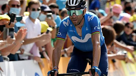 Valverde lidera el quinteto del ciclismo español en Tokio