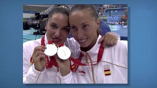 Natación sincronizada dúos, Andrea Fuentes y Gemma Mengual