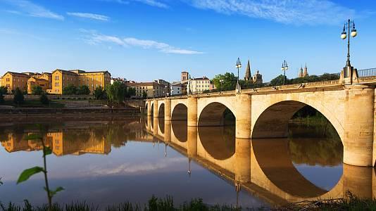 Logroño, ciudad en el aire