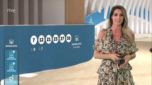 Sorteo de la Bonoloto y Euromillones del 13/07/2021