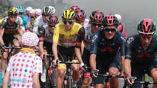 Tour de Francia. Etapa 18: Pau - Luz Ardiden