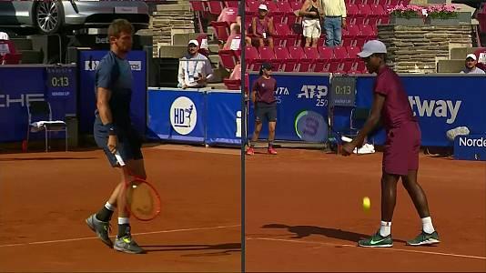 ATP 250 Torneo Bastad: E. Ymer - H. Laaksonen