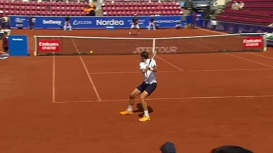 ATP 250 Torneo Bastad, 1/4 final: Y. Hanfmann - A. Rinderkne