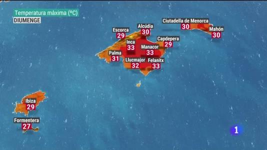 El temps a les Illes Balears - 16/07/21