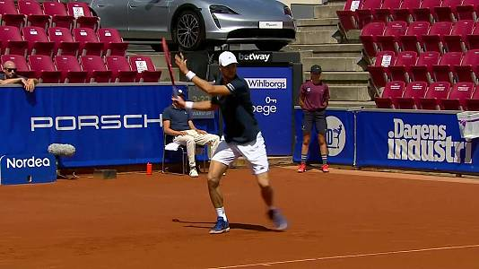 ATP 250 Torneo Bastad, 1ª semifinal: Y. Hanfmann - F. Coria
