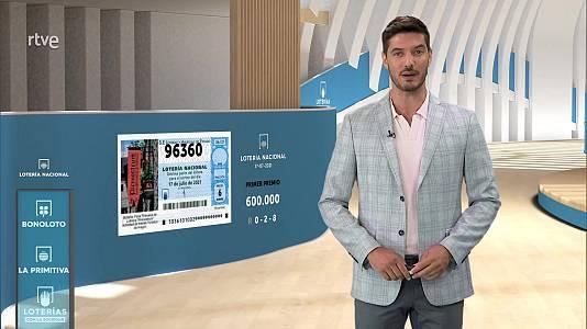 Sorteo de la Lotería Nacional del 17/07/2021