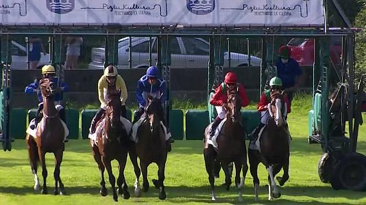 Carreras de caballos, hipódromo de San Sebastián