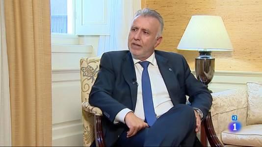 TVE habla con Ángel Víctor Torres - 18/07/2021