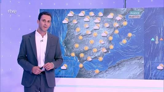 Predominio del tiempo seco y soleado en toda España. Sólo se esperan cielos nubosos en el litoral oeste de Galicia, con probables nieblas costeras, y algunos intervalos de nubes bajas matinales en puntos del norte de Galicia y área cantábrica