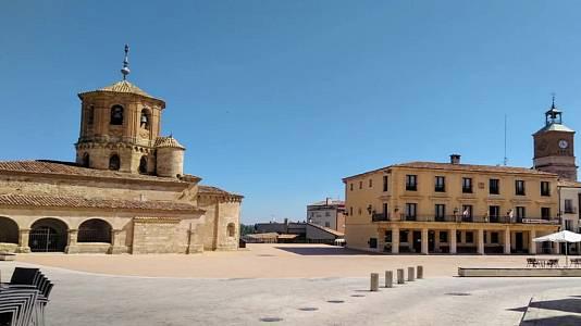 Temperaturas máximas altas en la meseta Sur, interior de Andalucía, norte de Aragón, áreas interiores de Cataluña y Canarias orientales