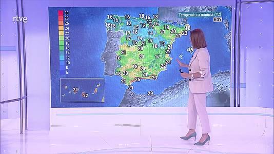 Predominio del tiempo seco y soleado en toda España
