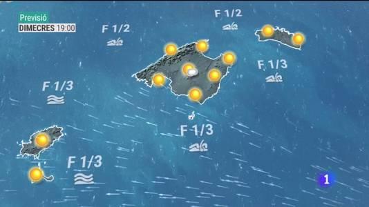 El temps a les Illes Balears - 20/07/21