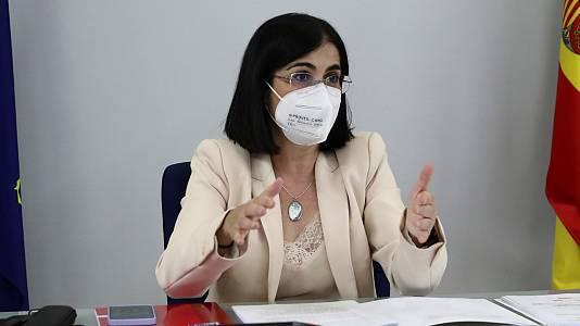 Comparecencia de la ministra de Sanidad