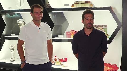 Tenis dobles Rafa Nadal y Marc López