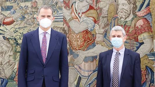 Audiencia del Rey Felipe VI a José Manuel Pérez Tornero