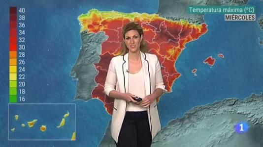 El tiempo en Castilla-La Mancha - 21/07/2021