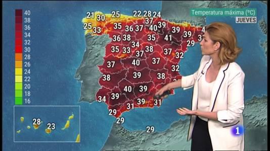 El Tiempo en la Comunitat Valenciana - 21/07/21